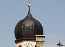 Kirchturm St. Jakob in Wallgau