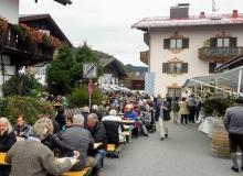 Herbstfest der Gebirgsschützen am 03.10.2018 in Wallgau