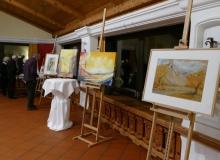 Kunstausstellung von Georg Kornbichler am 26.12.2018 im Parkhotel Wallgau