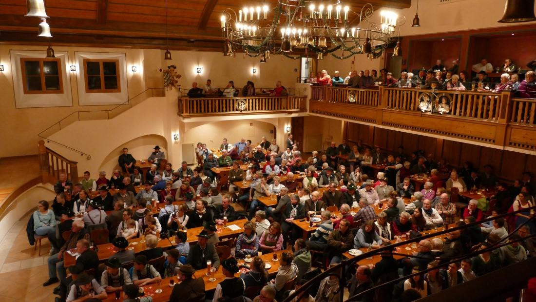 Jahresabschlusskonzert der Musikkapelle Wallgau am 29.12.2018