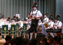 Jahresabschlusskonzert der Musikkapelle Wallgau am 29.12.2018 Christoph Sperer tritt zum ersten Mal als Sprecher der Musikkapelle als Nachfolger von Leonhard Breith auf.
