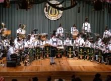 Jahresabschlusskonzert der Musikkapelle Wallgau am 29.12.2018 mit dem neuen Dirigenten Leonhard Breith
