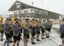 Trachtenjahrtag D'Simetsbergler Wallgau am 05.05.2019. Musikkapelle Wallgau