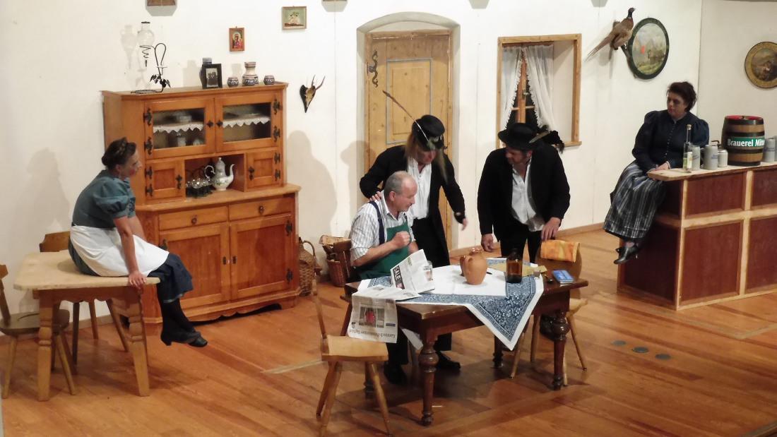 Theater Wallgau 2016 Die Geistermacher
