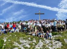 Bergmesse am 25.08.2019 auf dem Simetsberg bei Wallgau