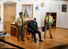 """Theatergrupper des Trachtenvereins d'Simetsbergler Wallgau am 24.09.2019 mit dem Stück """"Dümmer als die Polizei erlaubt"""")"""
