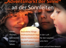 Adventsmarkt Wallgau 2018 Plakat