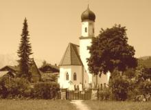 Kirche-Sepia