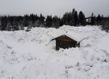 Pumpstation Wallgau Schnee