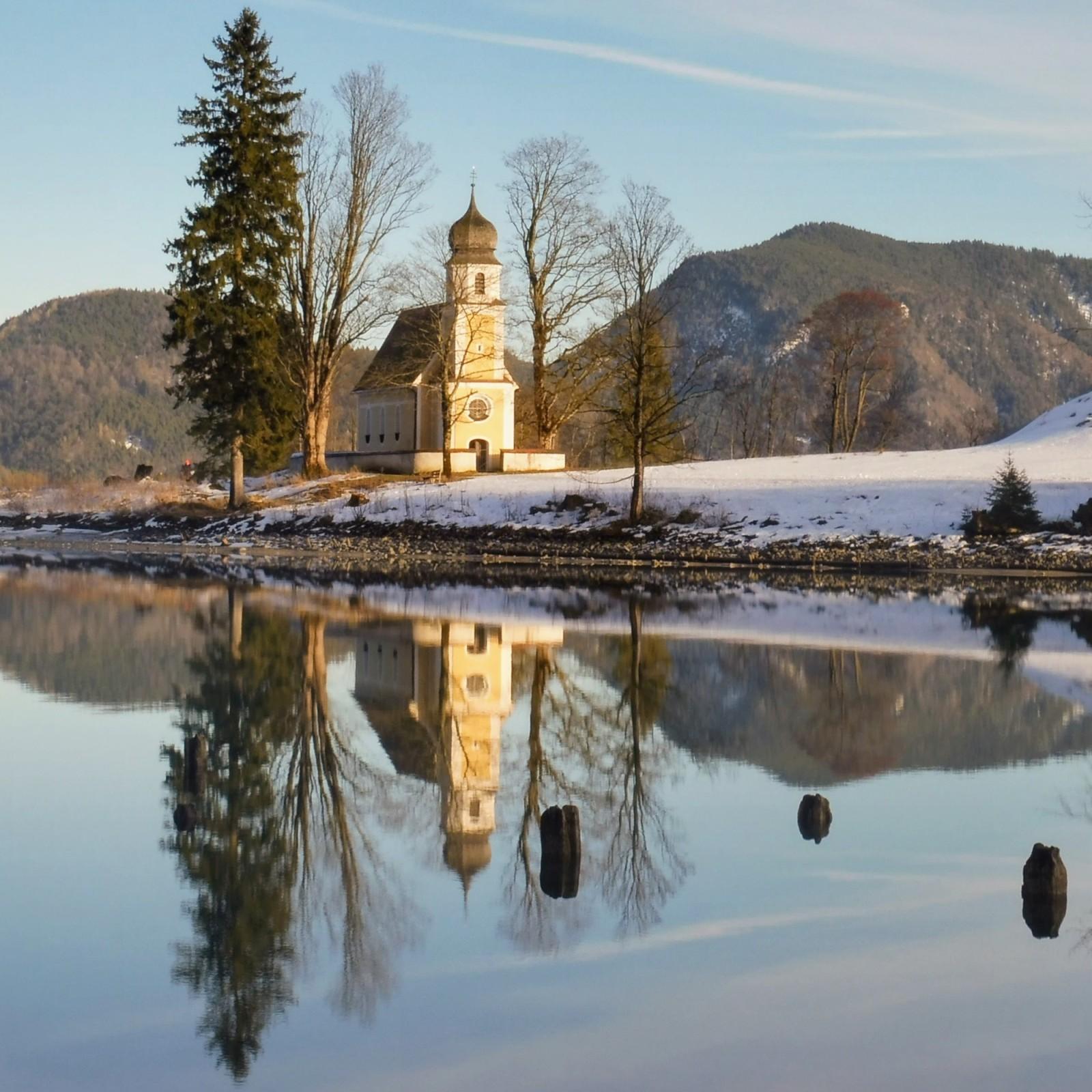 Margerethenkirche auf Zwergern am Walchensee