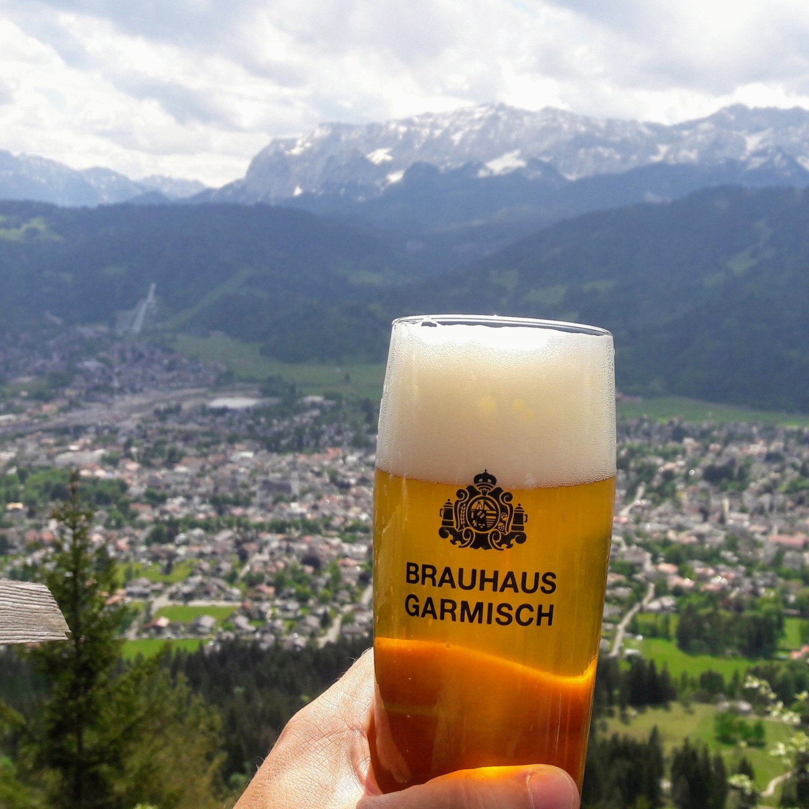 Ausflug auf den Grasberg (St. Martin) über Garmisch