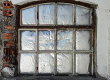 Fenster ohne Aussicht.