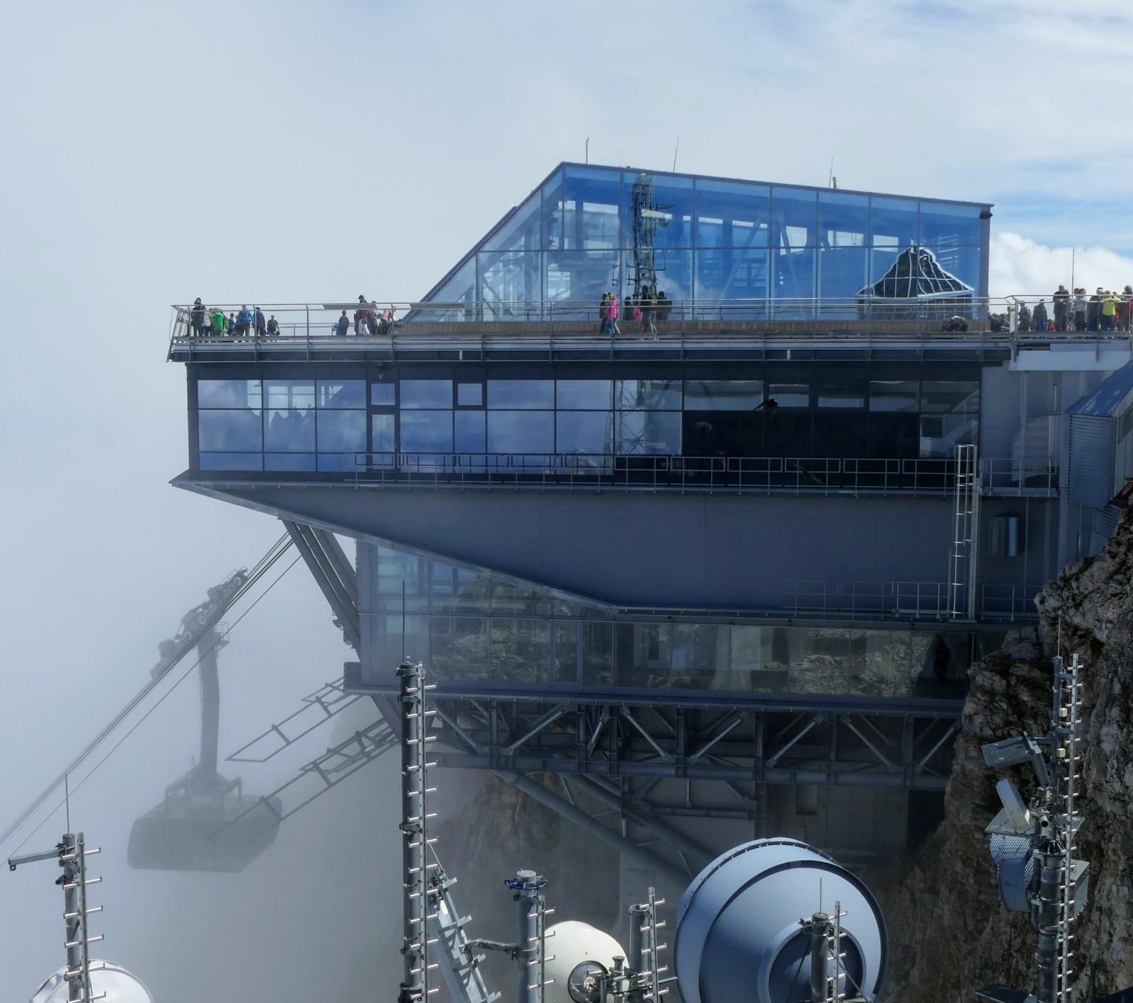 Neue Bergstation auf der Zugspitze