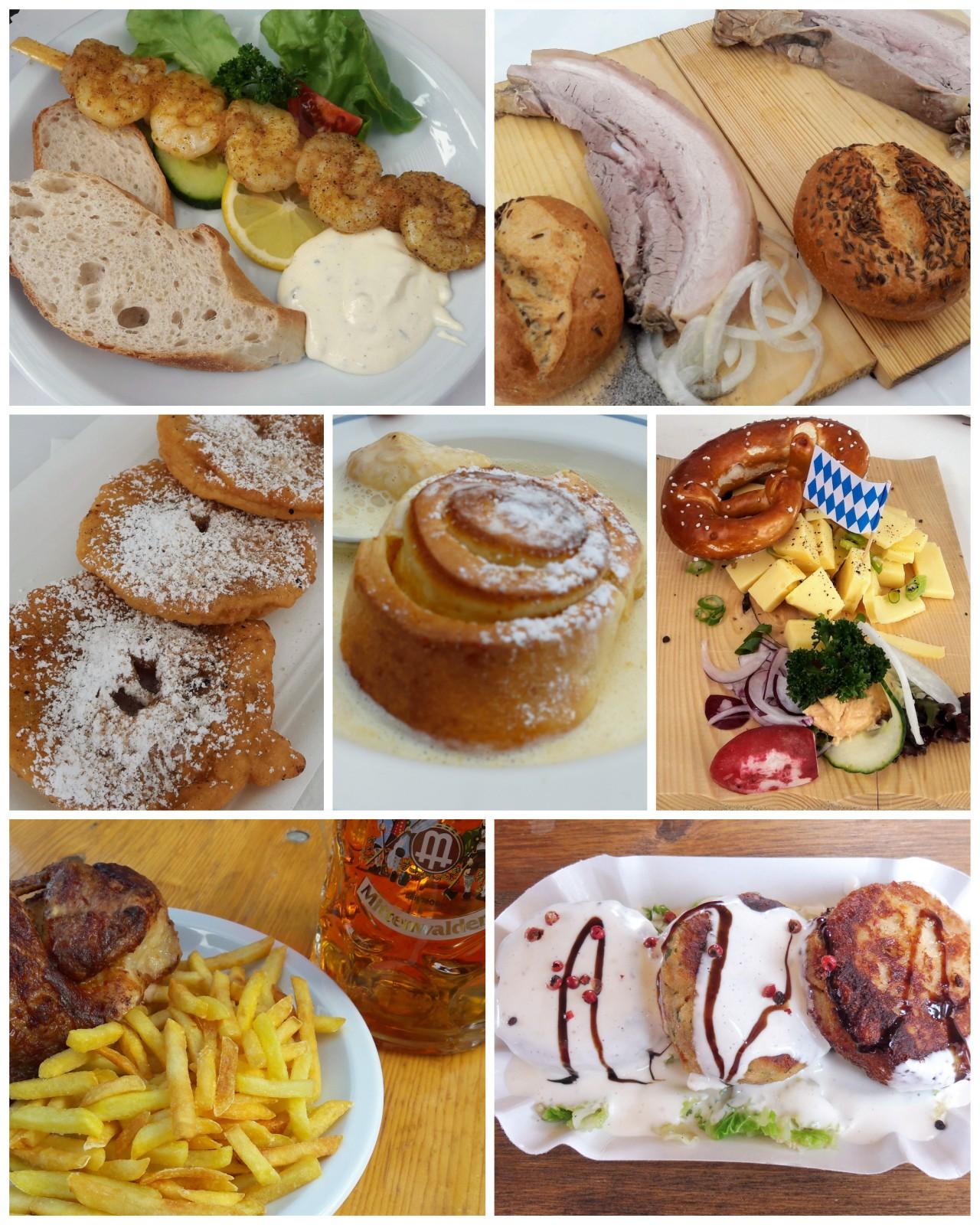 Wallgauer Feste und ihre Schmankerl. Wallgaus festivity and its delicacy