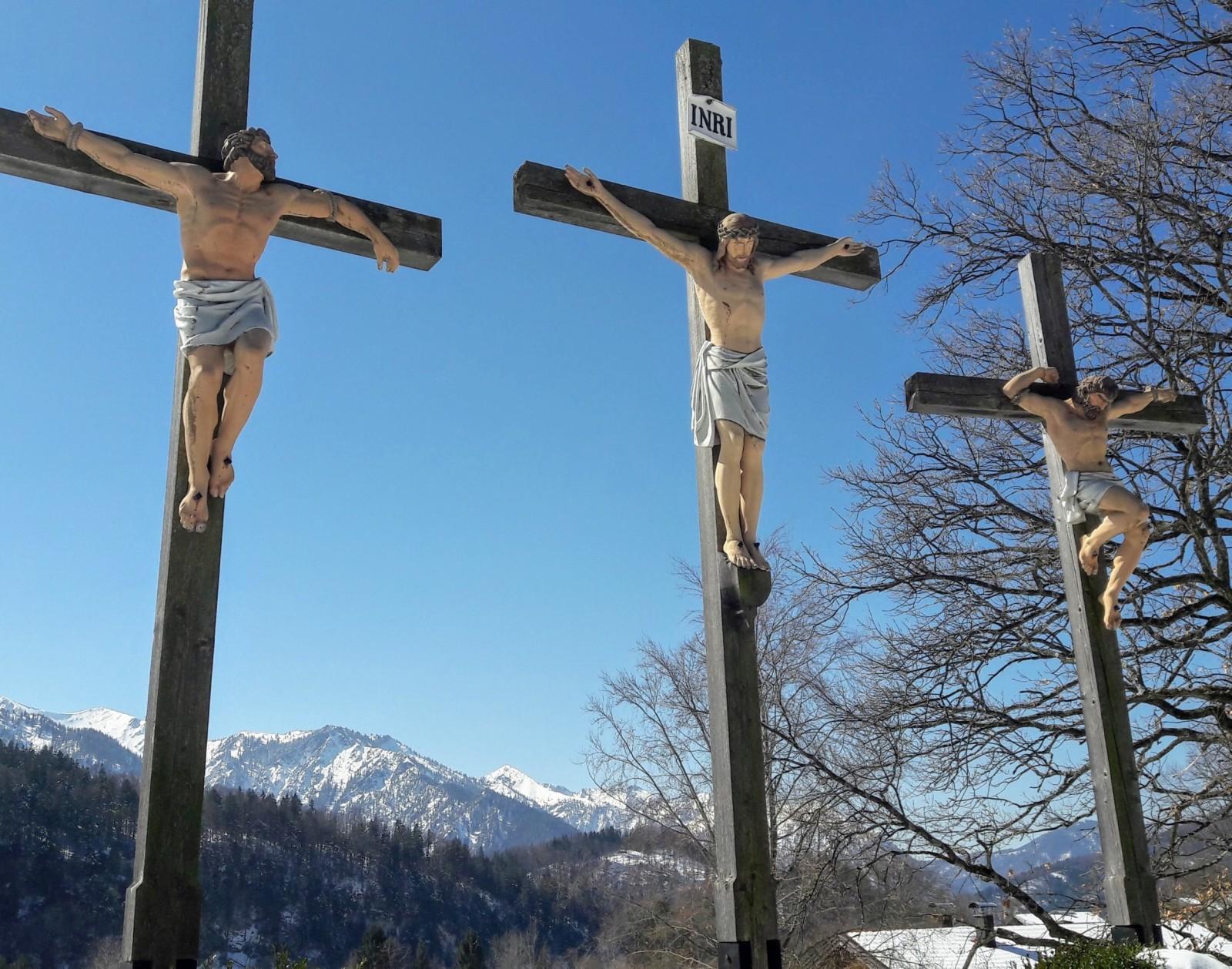 Kreuzigungsgruppe Wallfahrtskirche Birkenstein