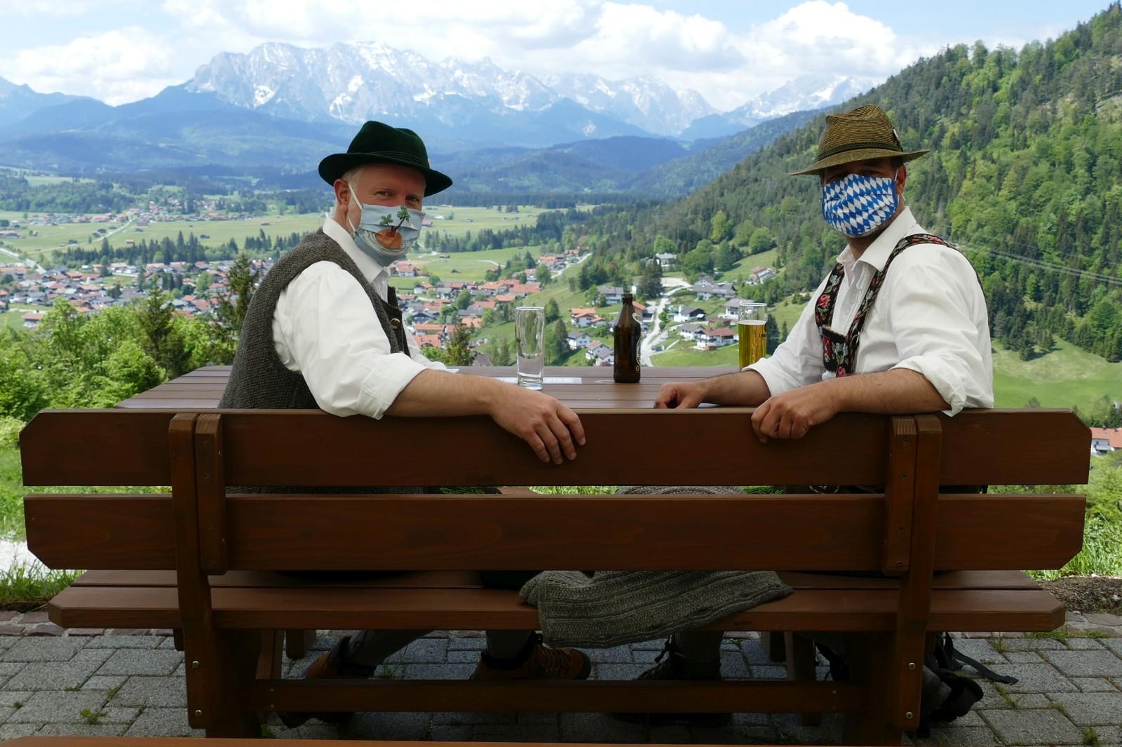 Auf der Maxhütte über Wallgau