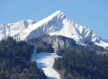 Alpspitze mit Kreuzjoch- und Adamswiesenlift