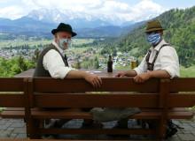 Vatertagsausflug in  Coronazeiten auf die Maxhütte über  Wallgau