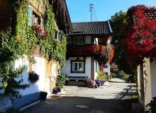 Blumenpracht an der Sonnleiten in Wallgau