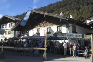 Bild vom Herbstfest in Wallgau