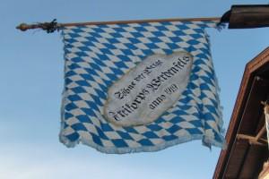 Woiga.de Fahne der Gebirgsschützen Wallgau