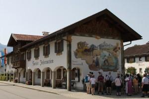 Rathaus Wallgau bei der 1250-Jahrfeier 2013