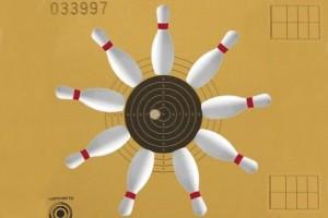 Schießen und Kegeln