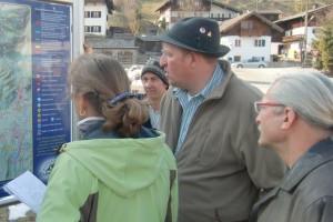 Dorfbegehung Dorferneuerung Wallgau