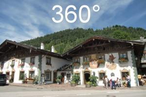 Dorfplatz Wallgau 360°