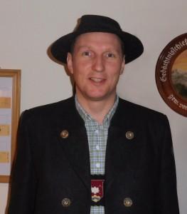 Matthias Breith, neuer Vorstand der Raiffeisenbank Krün-Wallgau