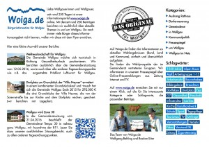 250 Tage Bürgerinformation durch Woiga.de