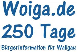 250 Tage Woiga.de