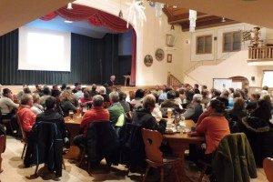 Dorfversammlung Wallgau am 24.01.2017 zur Dorferneuerung